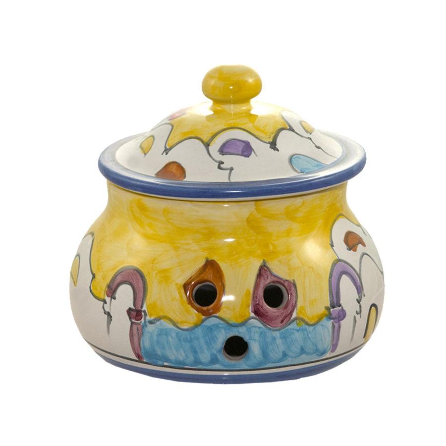 Porta Peperoncino in ceramica di Vietri - CERAMICA ...