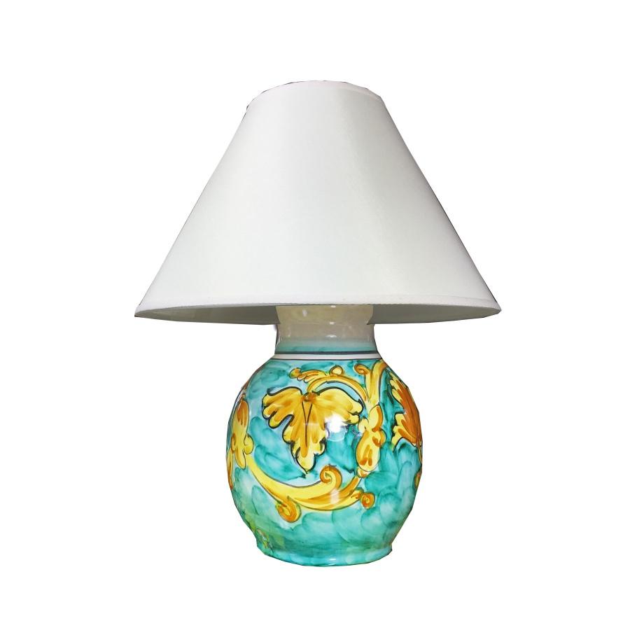 Lampade In Ceramica Di Vietri.Lampada Lume In Ceramica Di Vietri Barocco Ceramica Vietrese Eccellenza Artigianale Made In Italy