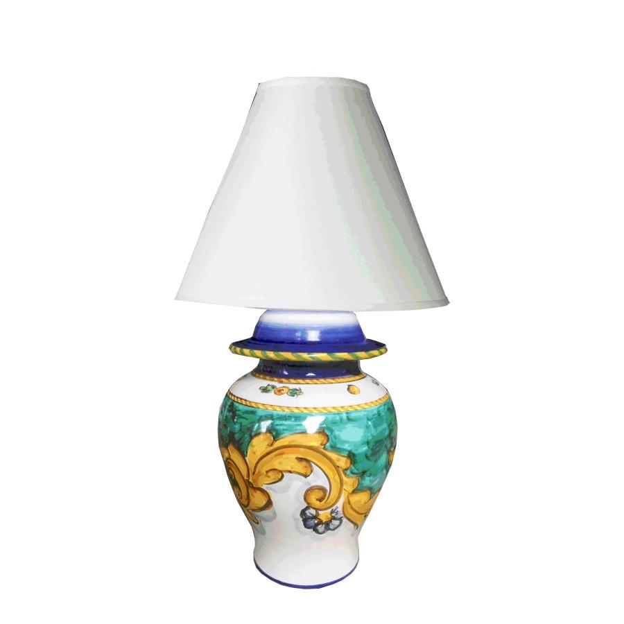 Lampade In Ceramica Di Vietri.Lampada Lume Poutiche In Ceramica Di Vietri Ceramica Vietrese Eccellenza Artigianale Made In Italy