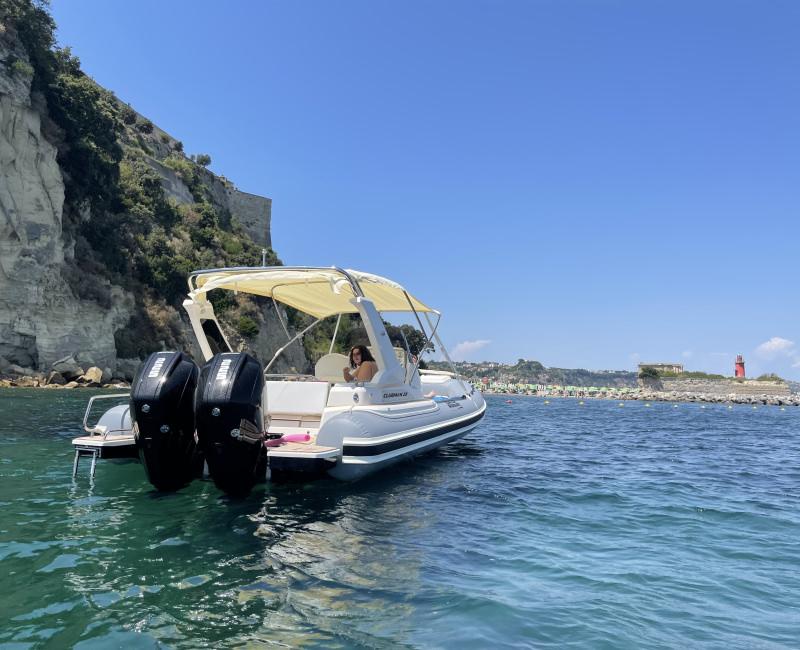 Bagno a Capo Miseno in acque Cristalline