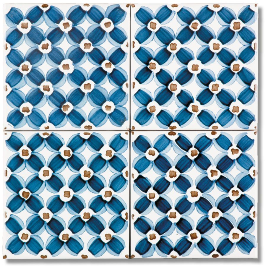 VIETRI Ceramic Tile 10x10 Hand Painted delivery in 10 working days