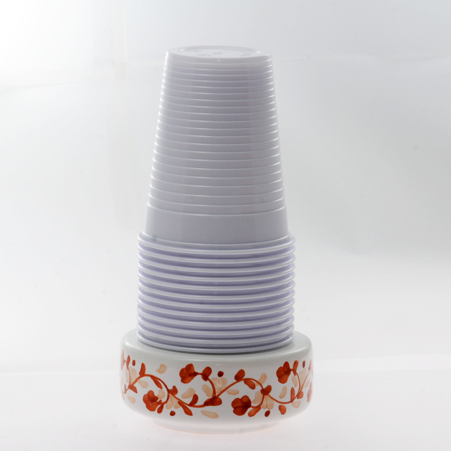 Base portabicchieri in Ceramica di Vietri - CERAMICA ...